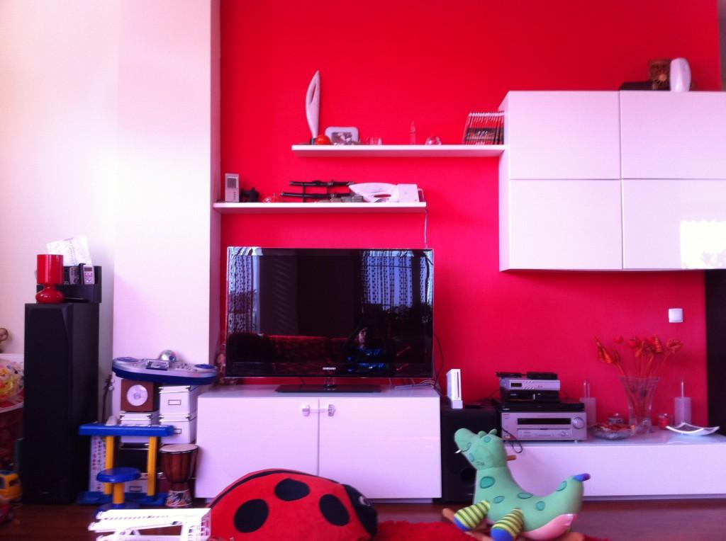 Living minimalist - Alb lucios